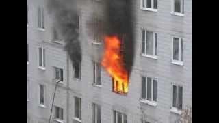 Пожар в Москве продолжение...