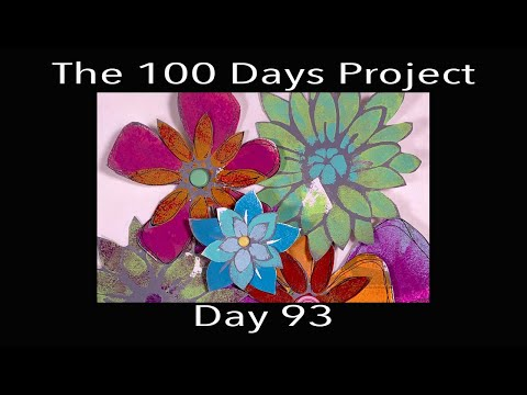 Paper Flowers - #100DaysOfPromptArt -  Day 93
