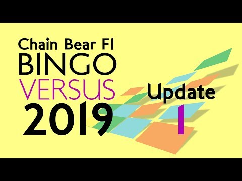 F1 Bingo Versus 2019 - Update 1