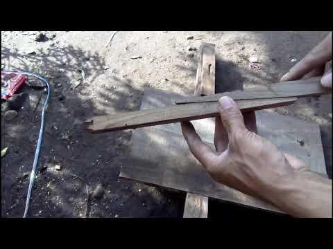 Skill Tukang Kayu Menyambung Papan