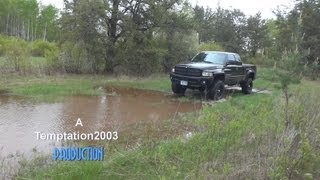 "5"" Lifted Dodge Ram on 35"