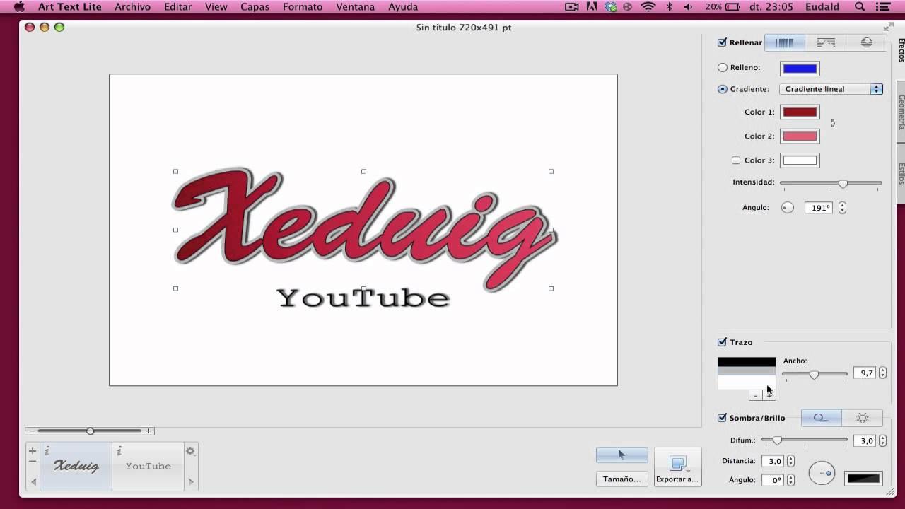 Programa para dise ar y editar textos mac youtube for Programas para disenar