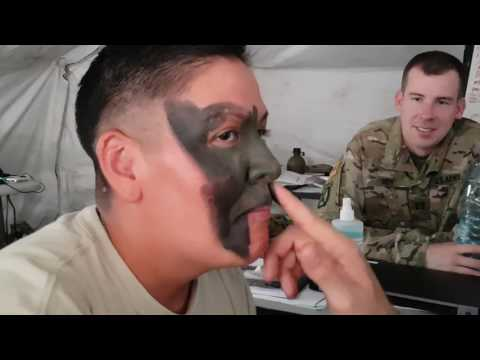 How to properly put on military Camouflage
