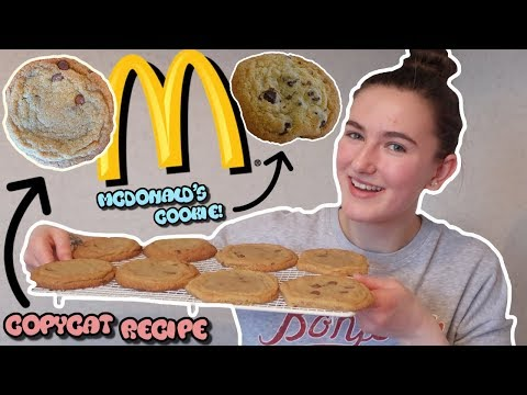 McDonald's Copycat Cookie Recipe! | Do They Taste the Same?