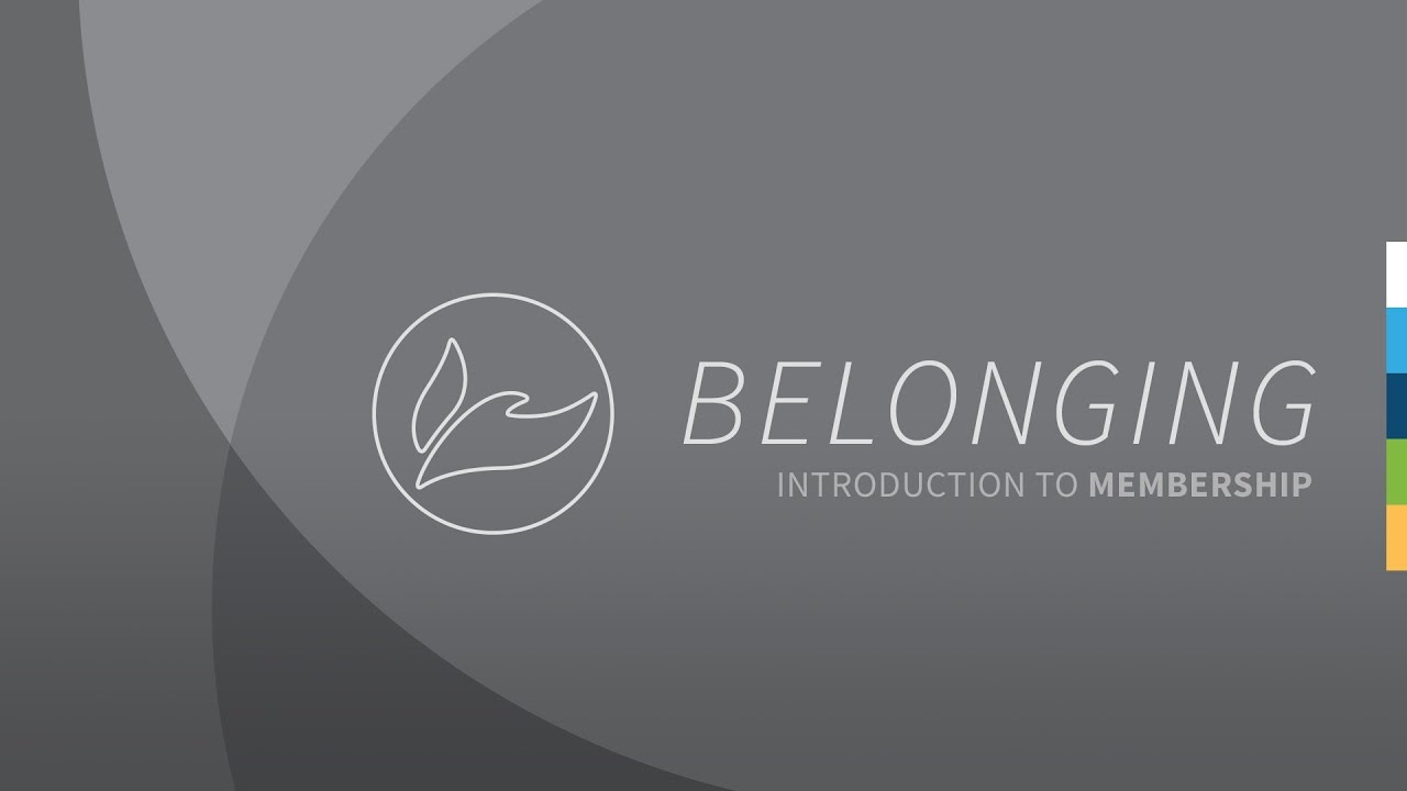 Belonging: Introduction to Membership