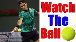 How To Watch The Ball Perfectly In Tennis thumbnail
