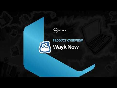 Devolutions Wayk Now - Instant Remote Desktop & Access Tool for Individuals & Businesses