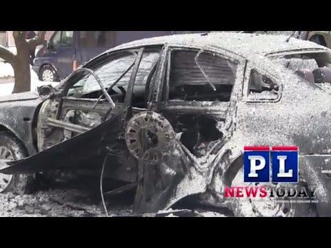 Explosion rocks Donetsk as car explodes in center city