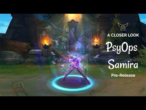 PsyOps Samira Epic Skin (Pre-Release)
