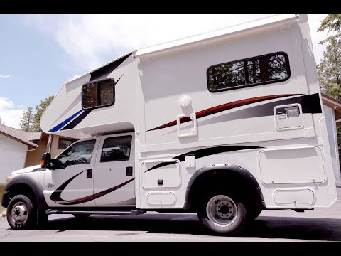 Expedition Camper Host Custom 4 season 4X4.