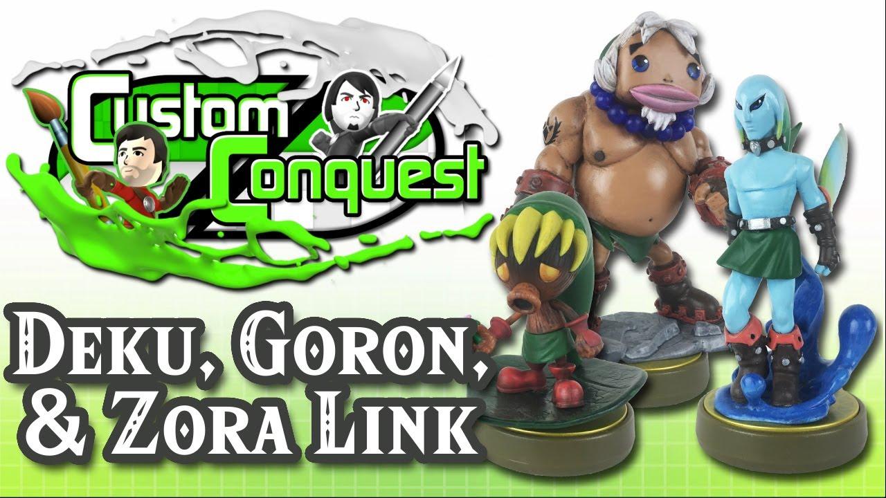 Custom Conquest 20 Majoras Mask Part 1 Deku Goron Zora Link