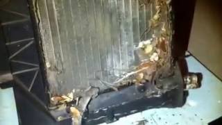 Removing AC Evaporator & Heater Core of a 1996 Chevrolet Suburban Part 2 (Replacing)