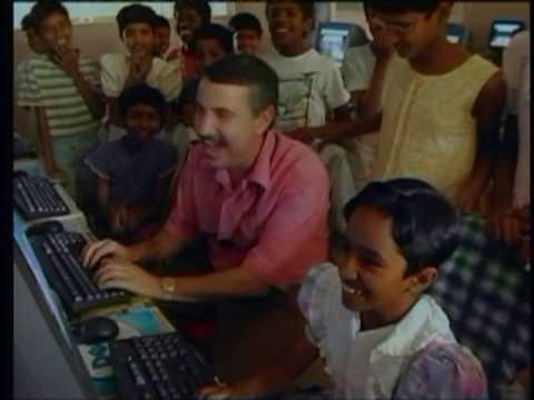 Thomas Friedman at The Shanti Bhavan School