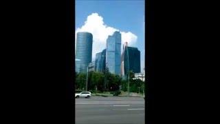 Международный Бизнес центр Москва. Обзор башен(Обзорное видео Международного бизнес центра в Москве в ходе экскурсии на автобусе., 2016-02-26T01:14:33.000Z)