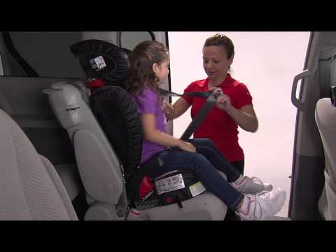 Parkway SGL - Positioning in the Seat with Backrest and ISOFLEX