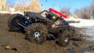 Rc Cwr - 3 X Axial Mud Run