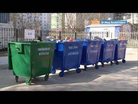 Новые мусорные контейнеры появятся в Белгороде в ближайшее время