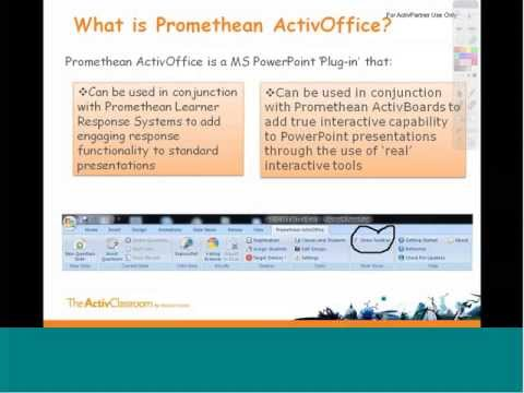 Promethean ActivOffice