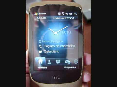 Manila 2D on the HTC Touch 3G