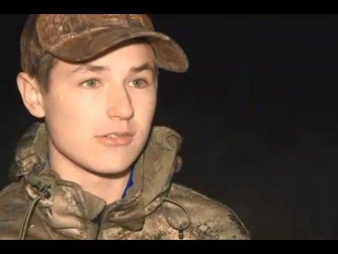 Отец с сыном отправились на охоту, в результате нашли пропавшую девушку