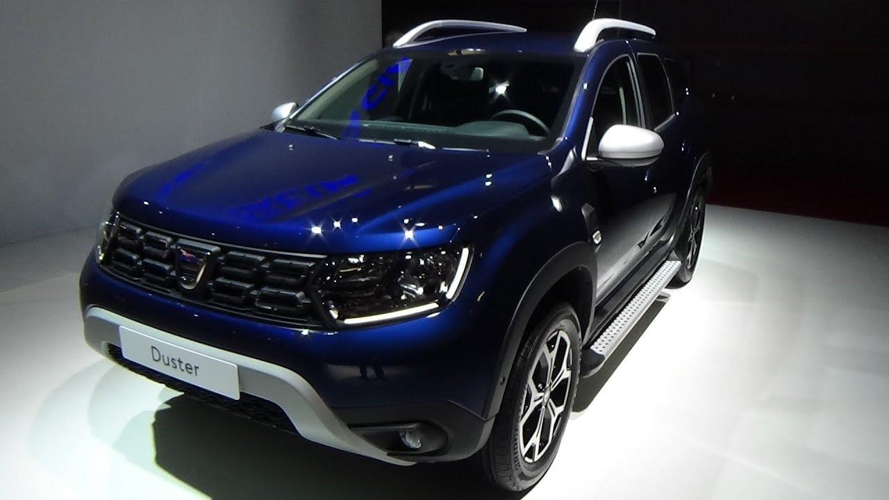 2019 dacia duster prestige blue dci 115 4x2 exterior and. Black Bedroom Furniture Sets. Home Design Ideas