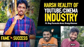 Must Watch Video For Wanna Be Telugu Youtubers and Actors | Ft.Krazy Khanna, Boy Formula Arun
