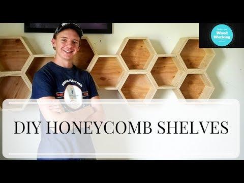 How To make Hexagonal / Honeycomb Shelves