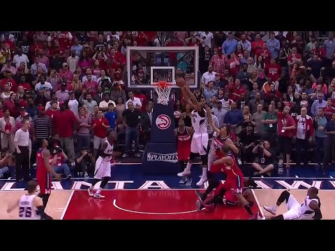 Al Horford Game Winner Putback | Game 5 | Wizards vs Hawks | May 13, 2015 | 2015 NBA Playoffs