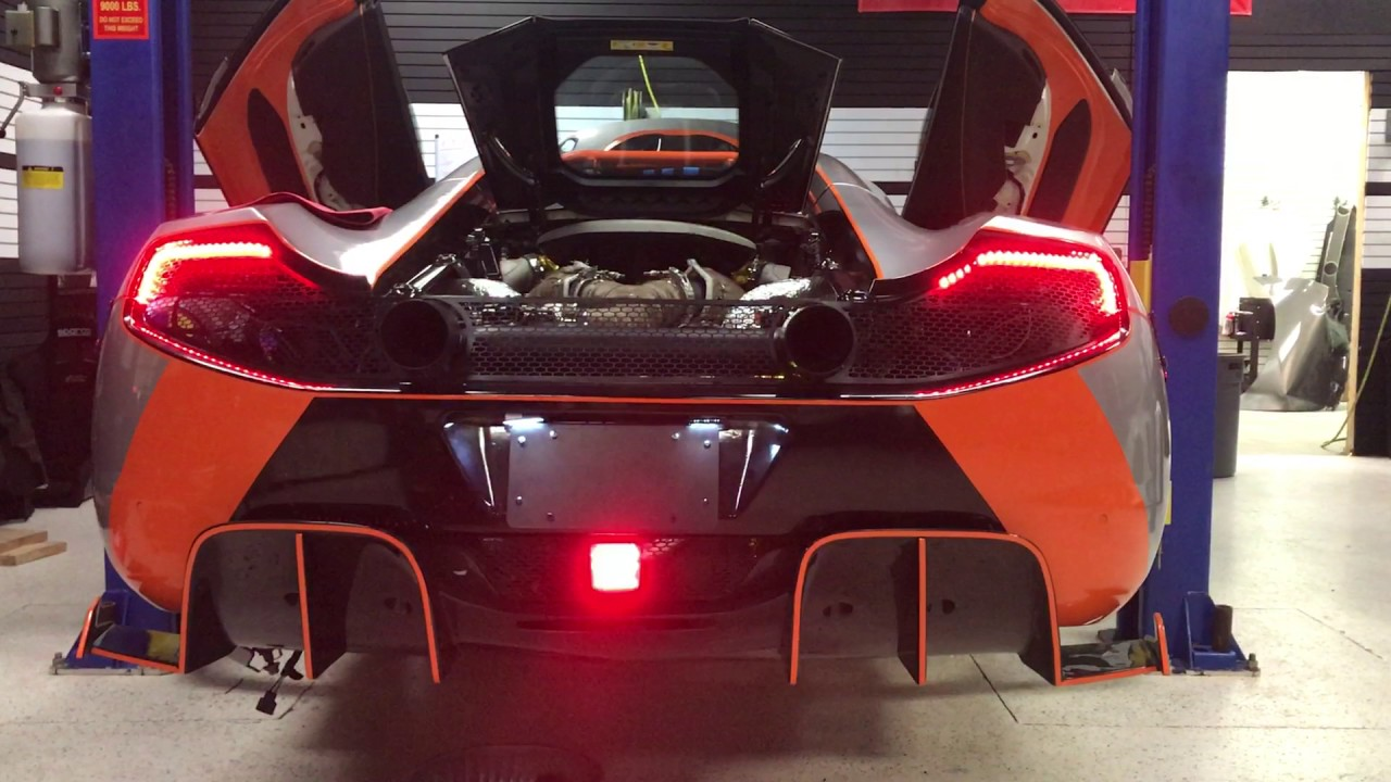 F1 Brake Light With P1 Style Taillights
