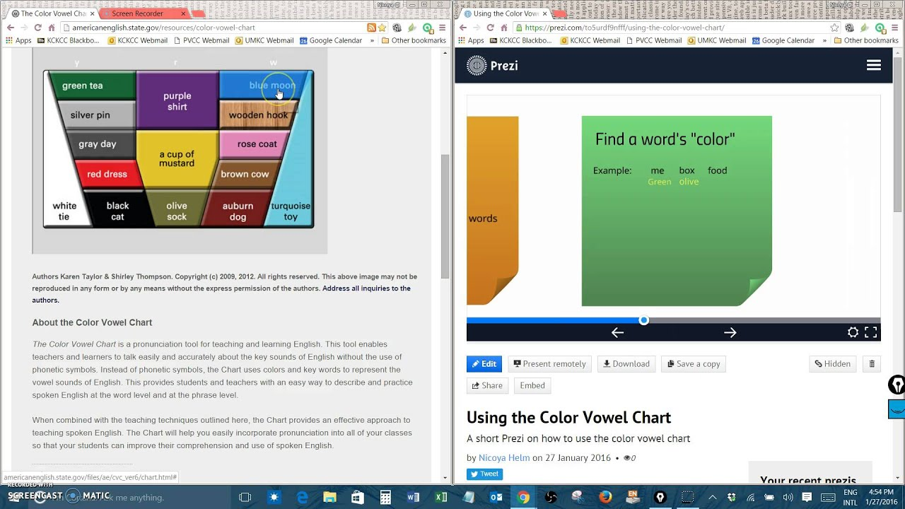 Using the color vowel chart youtube using the color vowel chart nvjuhfo Choice Image