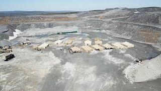 Развертывание обсервационного лагеря в районе поселка Еруда в Красноярском крае