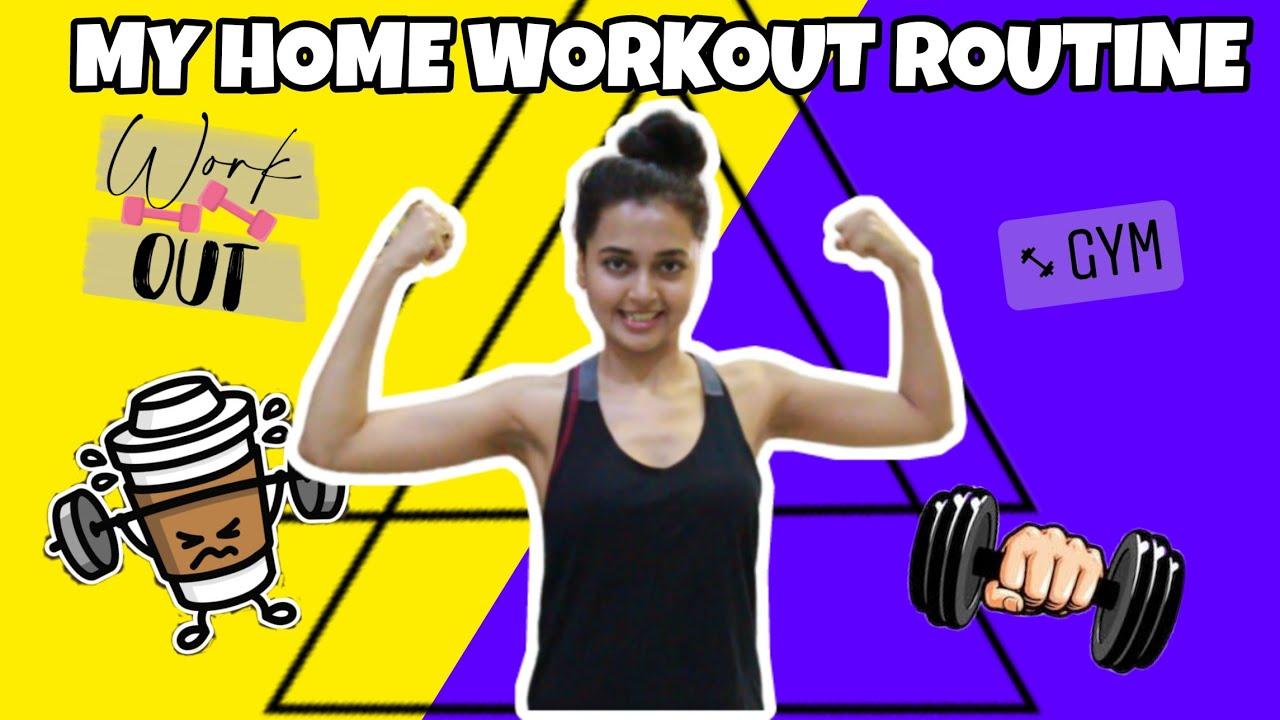 Lockdown Home workout Routine - Tejasswi Prakash