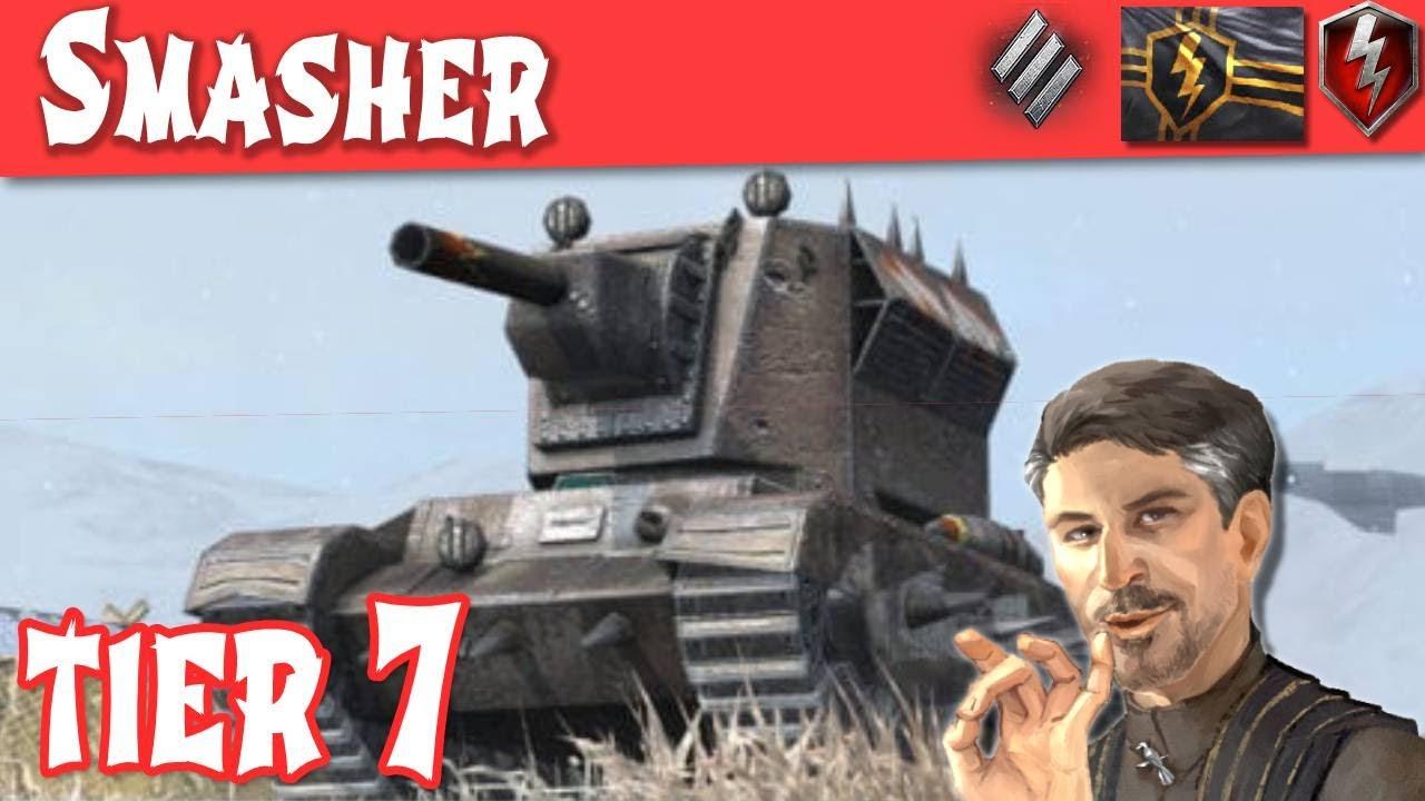 Smasher Partial Tank Review OMG!!!  WOT Blitz 