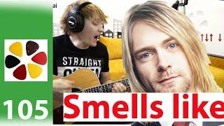 Nirvana - Smells like teen spirit  и УСЛОВИЯ РОЗЫГРЫША ГИТАРЫ