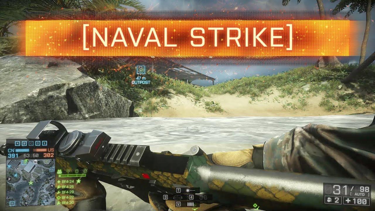 Battlefield 4 Naval Strike Gameplay Round-Up - MP1st