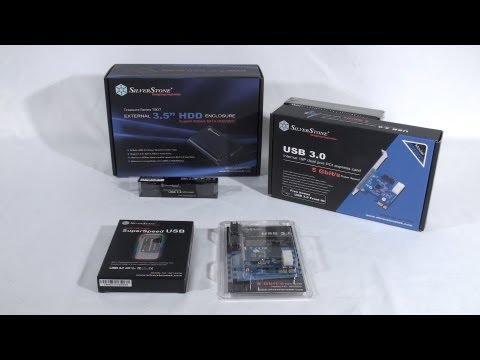 #1284 - SilverStone USB 3.0 Products Video Review