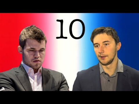 2016 World Chess Championship | Game 10 | Magnus Carlsen vs Sergey Karjakin