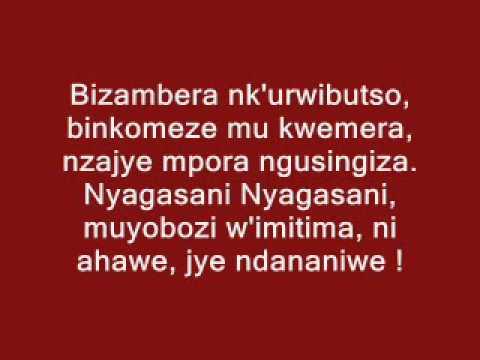 Kizito Mihigo - Ni ahawe Nyagasani