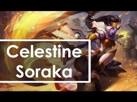 Pre-Release Teaser - Celestine Soraka Skin - League of ...  |Celestine Soraka Skin