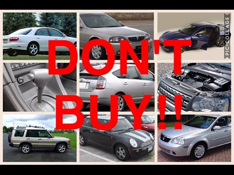 9 Used Cars You Should NEVER Buy - YouTube