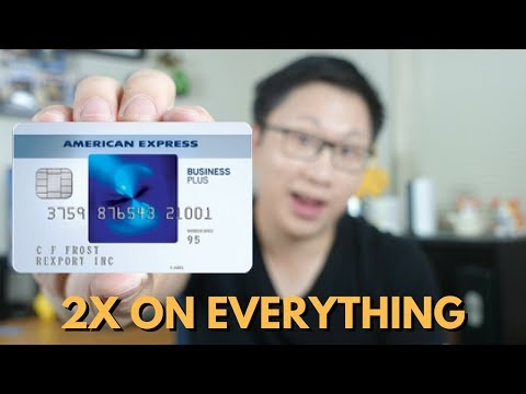 Amex Blue Business Plus Review: 2X On Everything (up To $50k)