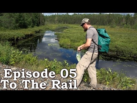 Beyond Survival | The Wilderness Living Challenge 2016 S01E05 - TO THE RAIL