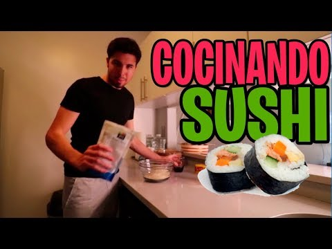 👉 WILLY EL CHEFF COCINANDO SUSHI | #MiPropositoPaypal