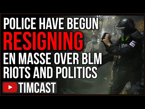 Police Are Resigning EN MASSE Over BLM Riots And Democrat Policy, Chauvin Verdict Will Make It WORSE