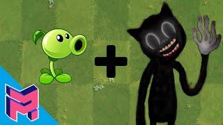 Plants vs Zombies Fusion Hack Animation ( Peashooter + Cartoon Cat )