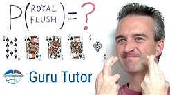 5-card Poker ROYAL FLUSH Probability and Odds
