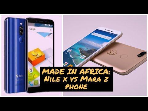 African Smartphones! Mara Z vs Nile X
