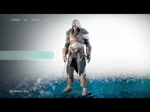 Assassin's Creed Unity: Legendary Medieval Armor showcase
