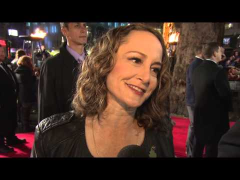 The Hunger Games: Catching Fire: Nina Jacobson London World Premiere Interview