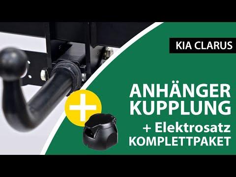 Anhängerkupplung Abnehmbar KIA CLARUS  | AUTO-HAK Komplettsatz + Montage Von Rameder